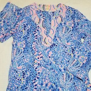 Lilly Pulitzer Amelia Island Blouse size small